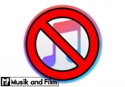 iTunes prohibited