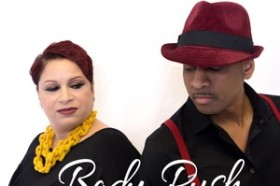 Ex-Girlfriend's Julia Robertson and Norm Adams pair up for single Body Rush now Released by Musik Radio Promotions-image